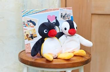 ピングー&ピンガお手玉+ピングー電報Photograph