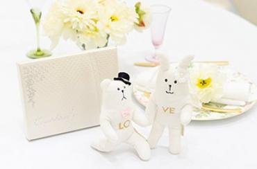 Wedding CRAFT ポーズクラフト+キラキラHAPPYBOX電報プレシャスホワイト
