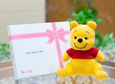 【ディズニー】My Picture プーさん ぬいぐるみ+ドキドキHAPPYBOX電報