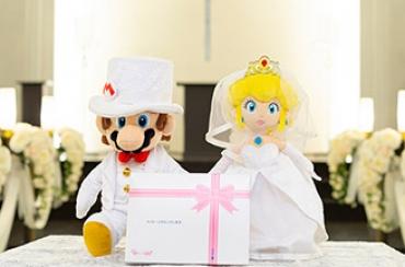 カピバラさん&ホワイトさん ハッピ~WEDDINGぬいぐるみ+ドキドキHAPPYBOX電報