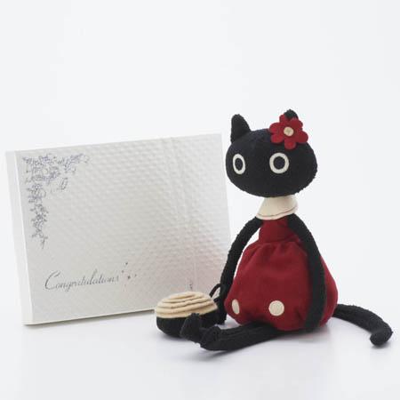 MEMEお花のバッグ〈Atsuko Matano〉+キラキラHAPPYBOX電報