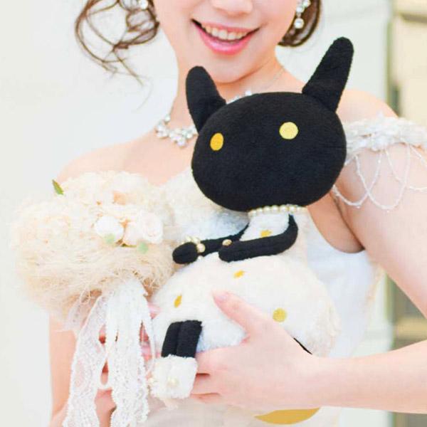 マシュマロウサギ〈Atsuko Matano〉+キラキラHAPPYBOX電報