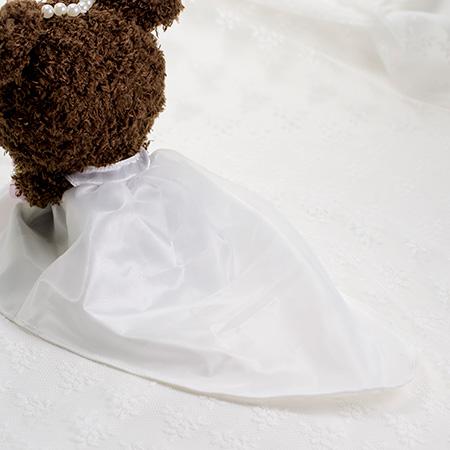裾の長いドレスでゴージャス