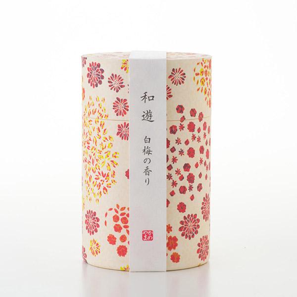 お悔やみ電報 うたかた お線香「和遊」白梅の香り