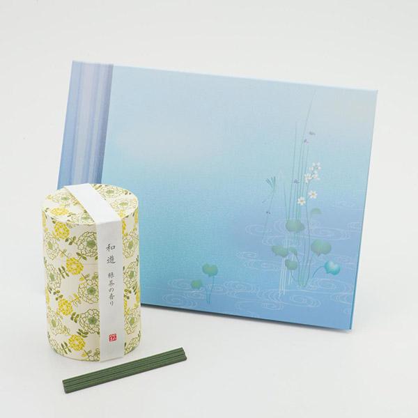 お悔やみ電報 うたかた お線香「和遊」緑茶の香り