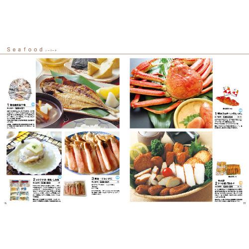 シーフードやステーキなど贅沢なグルメが満載です