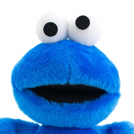 クッキーが大好きなクッキーモンスター