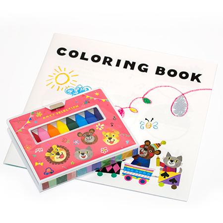 絵本仕立てで、楽しみながら商品を選ぶことができます。