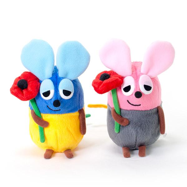 いろいろフレデリックぬいぐるみ(ブルー&ピンク)
