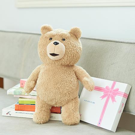 テッド2 ぬいぐるみ+ドキドキHAPPYBOX電報