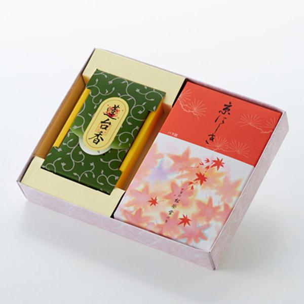 お焼香とお線香「京にしき・蓮台香」セット