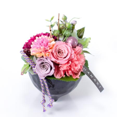〈HANARI〉かんざし小鉢 ピンク