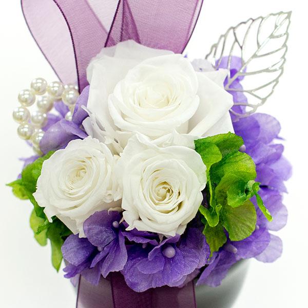 プリザーブド供花メモリアルポット 詩杯型 (S)