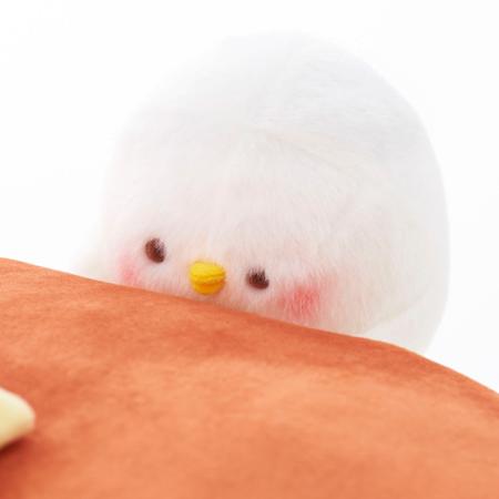 カナヘイの小動物 ピスケ ホットケーキクッション