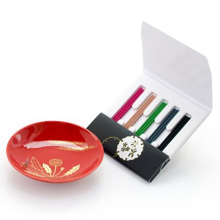 お香5種と香皿のセット