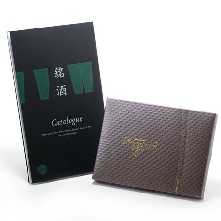 銘酒カタログギフト(GS04)+キラキラHAPPYBOX電報ショコラ