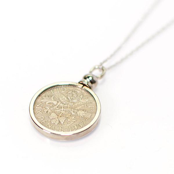 〈PORTADA〉シックスペンスコイン ネックレス