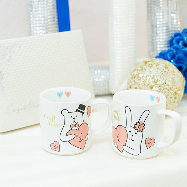 Wedding CRAFT ペアマグカップ
