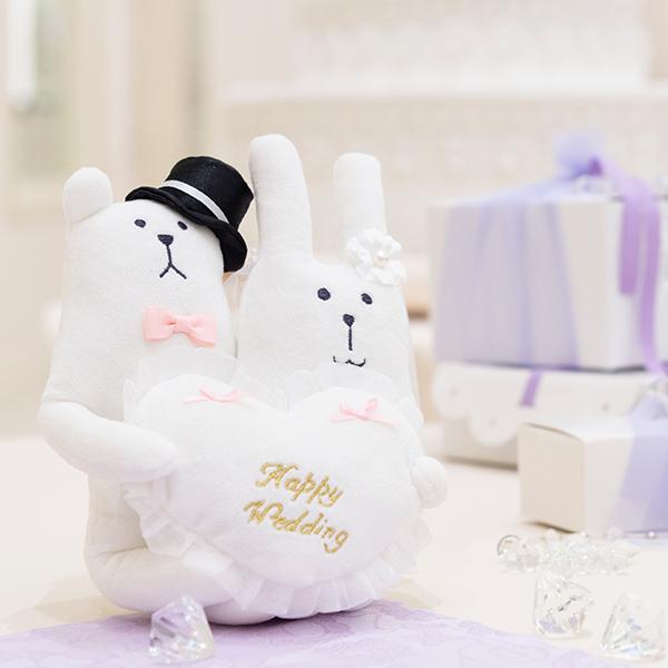 Wedding CRAFT リングピロー