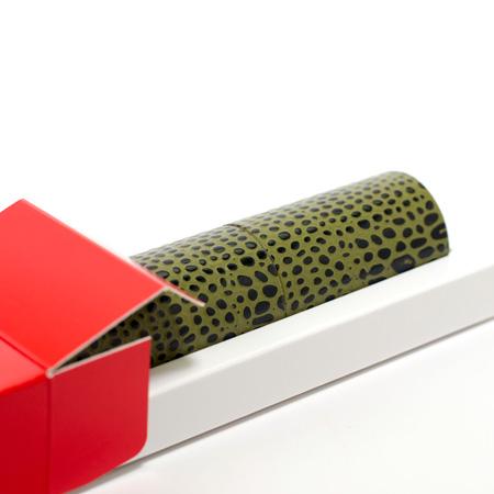 丸筒電報 スタンダードとと赤い筒箱のセット