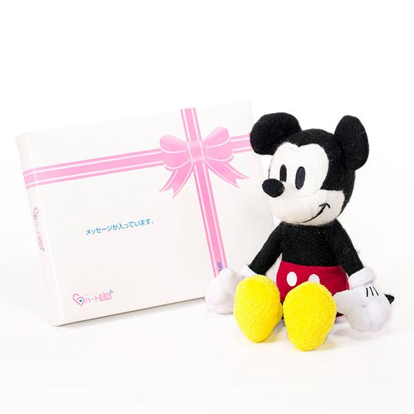 【ディズニー】My Picture ミッキーぬいぐるみ+ドキドキHAPPYBOX電報