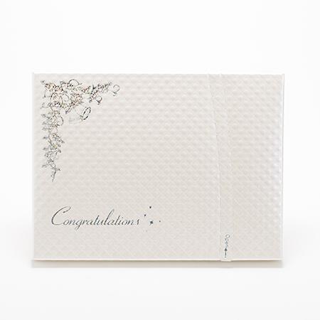 キラキラHAPPYBOX電報 プレシャスホワイト