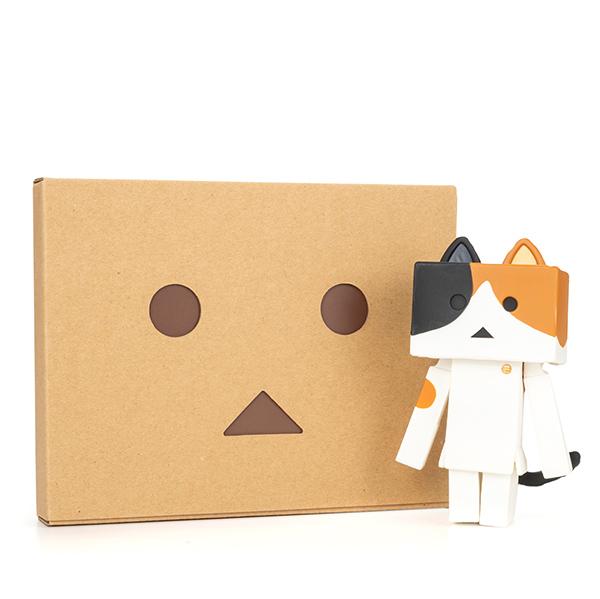 ソフビ ニャンボー(ミケ)+ダンボーHAPPYBOX電報(たいへんよくできましたver.)