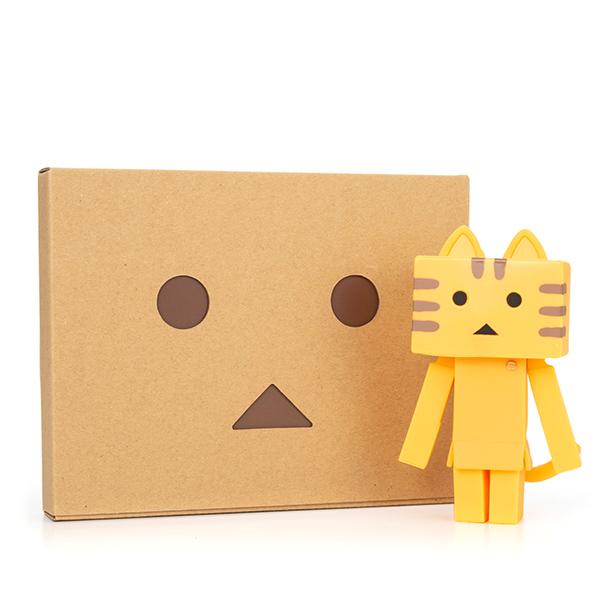 ソフビ ニャンボー(トラ)+ダンボーHAPPYBOX電報(たいへんよくできましたver.)