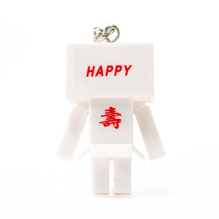 背面には「壽」と「HAPPY」の文字がプリント