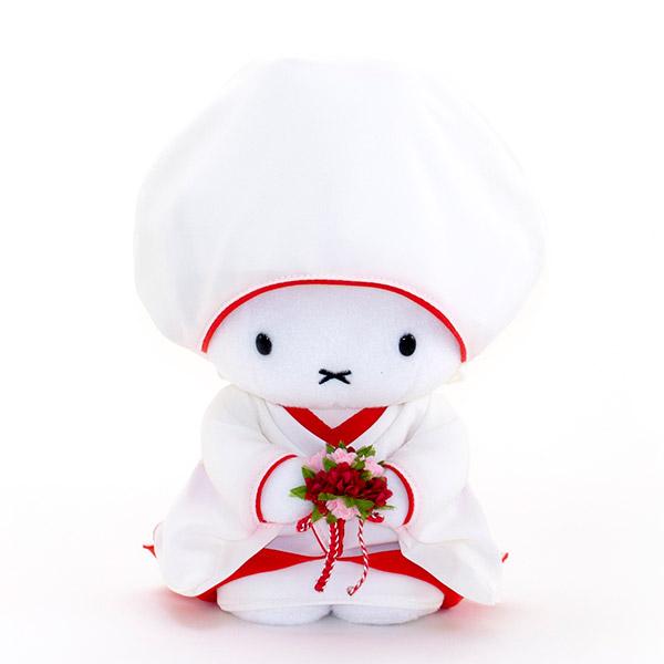 綿帽子のミッフィーもキュート。