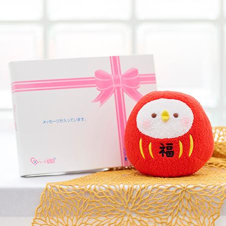 カナヘイの小動物 ピスケだるま+ドキドキHAPPYBOX電報