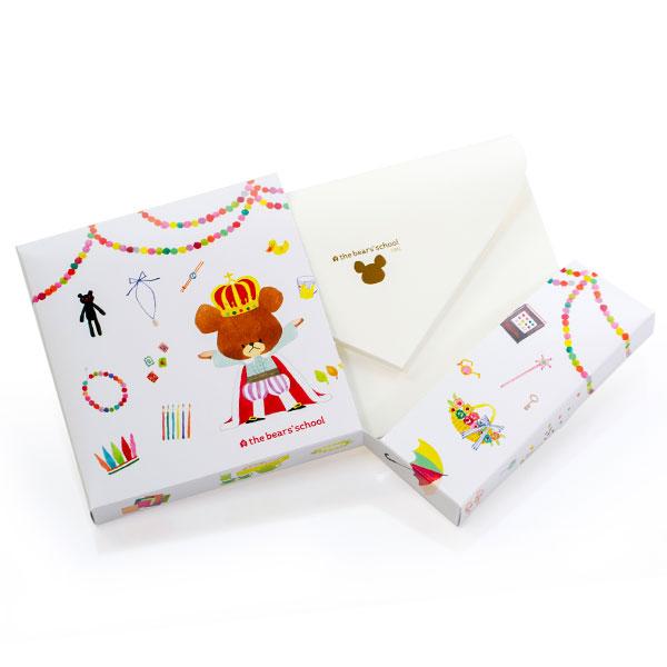 ボックスを開封すると中には封筒が。