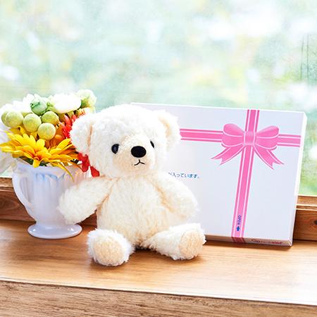 【日本製】クマのフカフカ(S)クリーム