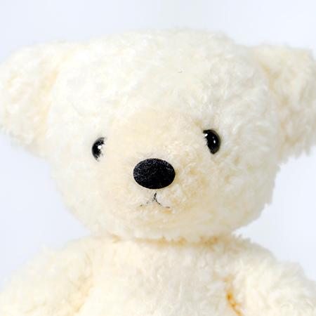 【日本製】クマのフカフカ(M)クリーム