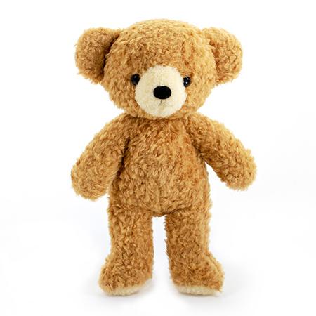 【日本製】クマのフカフカ(M)ブラウン