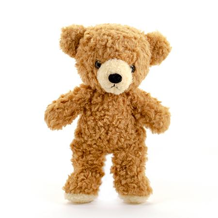 【日本製】クマのフカフカ(S)ブラウン