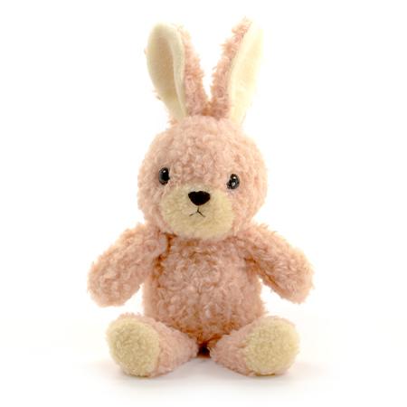 【日本製】ウサギのフカフカ(S)ローズ