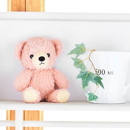 【日本製】クマのフカフカ(S)ローズ