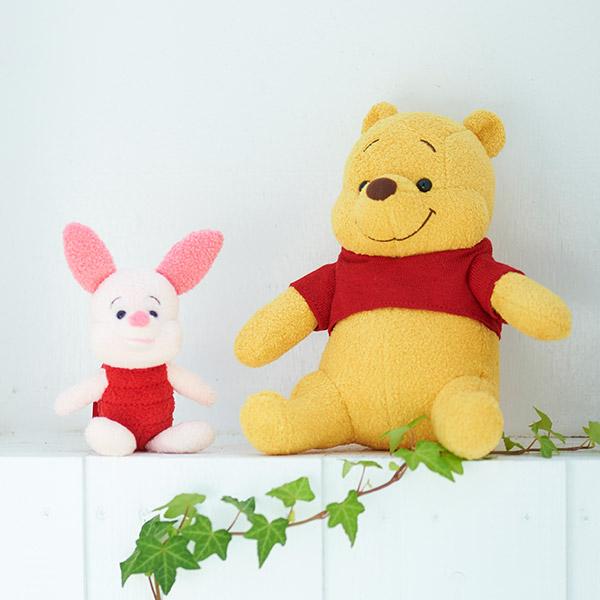【ディズニー】Winnie the Poohプーさん&ピグレットぬいぐるみ
