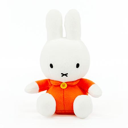ミッフィー ぬいぐるみ(オレンジ)