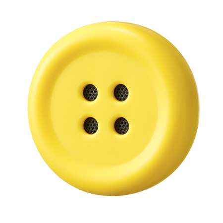ボタン型スピーカー「ペチャット」