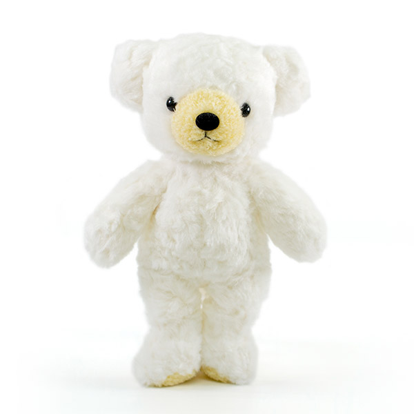 【日本製】クマのフカフカ(M)チンチラ ホワイト
