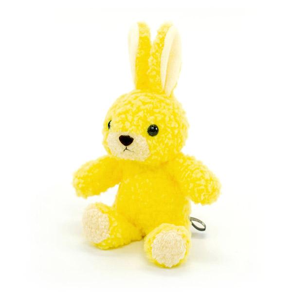 【日本製】ウサギのフカフカ(S)たんぽぽ+ドキドキHAPPYBOX電報